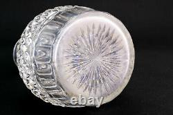 1800s Antique Decanter Cut Glass Century Georgian Crystal Port Sherry Whisky