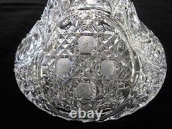 2 SHIPS DECANTER-MADE ITALY HAND CUT, 24% LEAD CRYSTAL, 12H WithSTOPPPER, XLNT COND