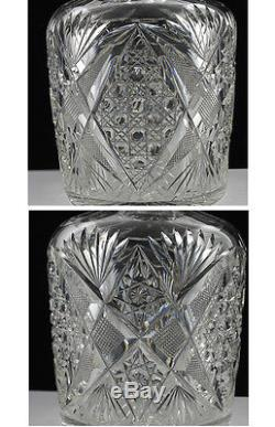Abp Brilliant Period Whiskey Bottle Cut Glass Decanter