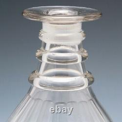 A 19th Century Decanter with Radial Mushroom Stopper