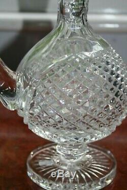 A Waterford Crystal Master Cutter Claret Jug/Decanter, Super Condition 11.5/8