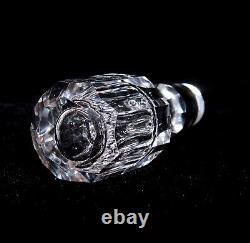 American Brilliant Hand Cut Crystal Decanter SIGNED Pepi