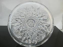 American Brilliant Period ABP Antique Cut Glass VASE or Decanter