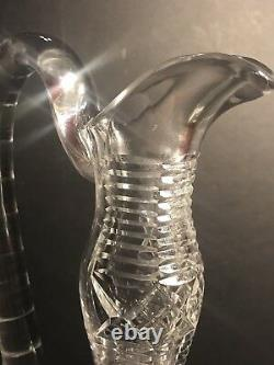 An Antique ABP American Brilliant Cut Glass Decanter/ Carafe