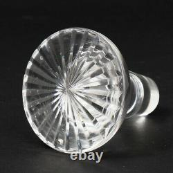 Antique ABP Brilliant Period Cut Glass Ship Decanter Bottle with Stopper 10.5 T