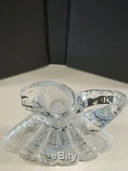 Antique EAPG American Brilliant Cut Glass Triangle Liquor Decanter & Stopper