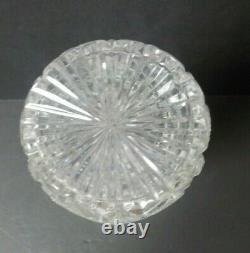 Antique Hawkes BRAZILIAN American Brilliant Cut Glass 15.75 Whiskey Decanter