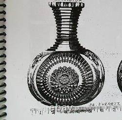 Antique Koh-i-noor Everett American Brilliant Crystal Abp Carafe Decanter