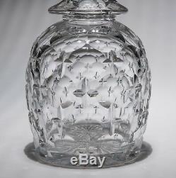 Antique Victorian Gothic Revival High Quality Cut Glass Liqueur Decanter c1870