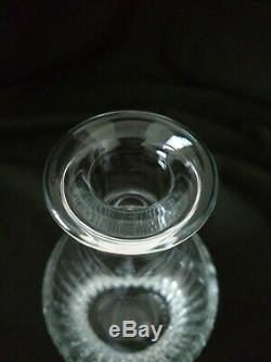 BACCARAT MASSENA Cut Crystal France 6 Pc Whiskey Decanter & Tumbler Set