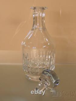 Baccarat Art Glass 10 CANTERBURY Decanter With Vertical Cuts