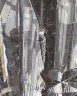 Baccarat Crystal Austerlitz Large Decanter 13 3/4 H Clear Cut France
