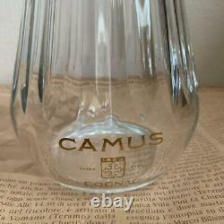 Baccarat Crystal Camus Tradition Beautiful Cut Cognac Decanter Empty Bottle