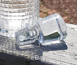 Baccarat Cut Crystal Spirit Decanter Nancy 11 1/2 with Box French Art Glass
