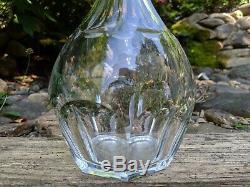 Baccarat Malmaison Hand-Blown Cut Crystal Cognac/Brandy Decanter & Stopper