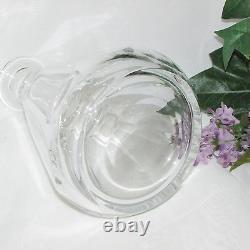 Baccarat Tallyrand Liquor Decanter French Crystal Cut Stopper 9 1/4 Barware