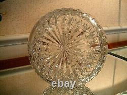 Beautiful ABP Decanter with Honeycomb or St. Louis Diamond and Original Stopper