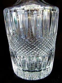 CUT CRYSTAL WHISKEY DECANTER c. 1900! OUTSTANDING