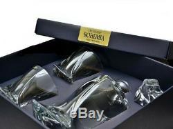 Crystal Glass Bar Decanter Whisky Set 850ml + 2 x 340ml Tumbler Wedding Gift