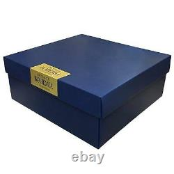 Crystal Glass Bohemia Whisky Decanter Gift Set 850ml + 2 x 340ml Tumbler