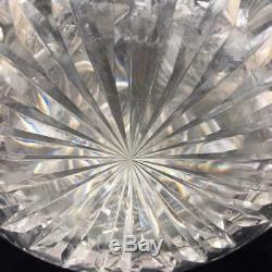 Decanter Antique American Brilliant Period ABP Cut Glass Water Carafe Elaborate