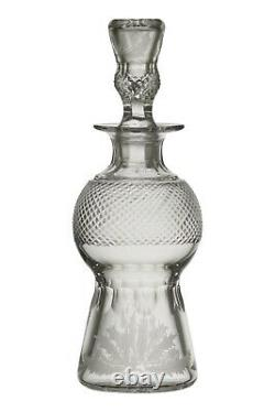 EDINBURGH Crystal THISTLE Cut Liqueur Decanter / Decanters 8 (2nd)