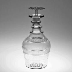 Early 19th Century Irish Glass Prussian Decanter
