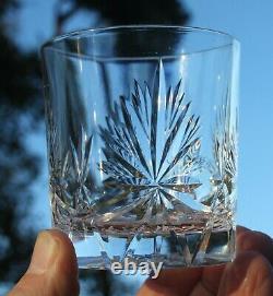 Edinburgh Crystal Whisky Decanter & Glass Set Star of Edinburgh 1950s RARE