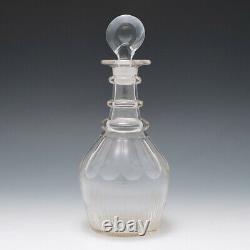Georgian Cut Glass Decanter c1820