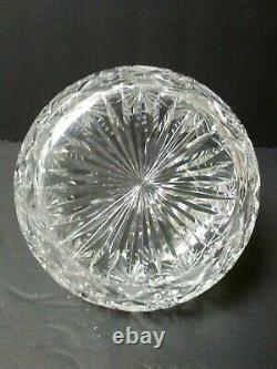 HAWKES American Brilliant Period Cut Glass Whiskey Decanter, c. 1900