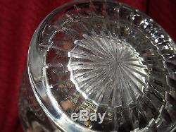 LARGE ANTIQUE ABP BRILLIANT CUT GLASS CRUET DECANTER c1900's