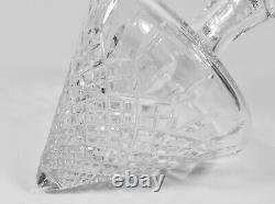 Lovely Mint in Box Stuart Crystal Side Rest Cut Crystal Decanter Shaftesbury