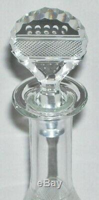 MOSER Beautiful Hand Cut Crystal LIQUEUR DECANTER (Splendid) Czech