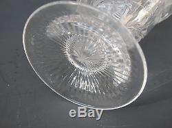 RARE Rock Crystal INTAGLIO Cut Glass DECANTER Stevens Williams WEBB Stourbridge