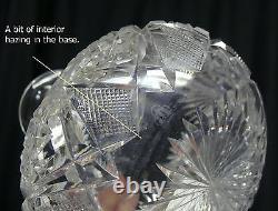 Reduced Price HAWKES Cut-Crystal Carafe / Water Bottle / Vase 7 GLADYS c. 1901