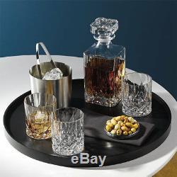 Royal Doulton Crystal Seasons 7pc Decanter Set (set Of 6 Tumblers)