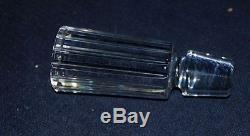 STUNNING TALL BACCARAT CUT CRYSTAL DECANTER WithSTOPPER DESIRABLE PATTERN