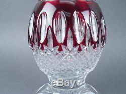 Signed Waterford Cut Glass Crystal Decanter Estate Find Excellent Condition