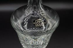St Saint Louis Crystal Tommy Cordial Decanter and Stopper 9 7/8 H FREE SHIPPING