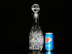 Stunning Waterford Cut Crystal Lismore Wine Decanter With Stopper. 13 1/4