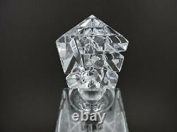 Tiffany and Co Rock Cut Crystal Decanter and Stopper