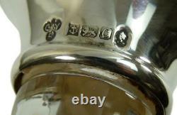 VINTAGE Silver Collar DECANTER C J Vander 15