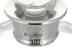 Vintage BARKER ELLIS Silver Top Square Decanter 9 1/4