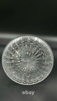 Vintage Edinburgh Crystal Thistle Ship's Decanter-Excellent Condition