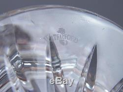 Vintage Waterford Bohemian Czech Cut Glass Style Crystal Decanter with Stopper #2