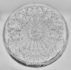 WATERFORD CRYSTAL CUT LISMORE SHIPS DECANTER w MULTI CUT STOPPER 11 1/2 RARE