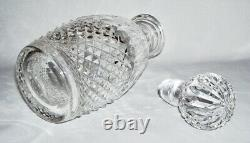 WATERFORD Elegant Cut Crystal SPIRIT DECANTER withSTOPPER (Colleen) Ireland