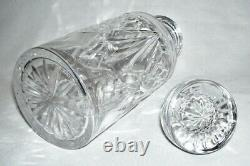 WATERFORD Elegant Cut Crystal SPIRIT DECANTER withSTOPPER Ireland