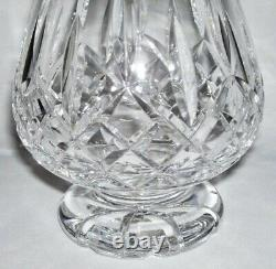WATERFORD Elegant Solid Cut Crystal FOOTED BRANDY DECANTER (Lismore) Ireland