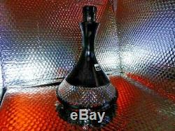 Waterford Black Cut Crystal Decanter by John Rocha